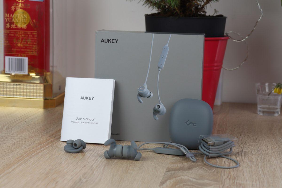 Aukey EP B60 Bluetooth Kopfhörer Lieferumfang