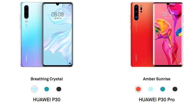 Huawei P30 Pro vs. Huawei P30