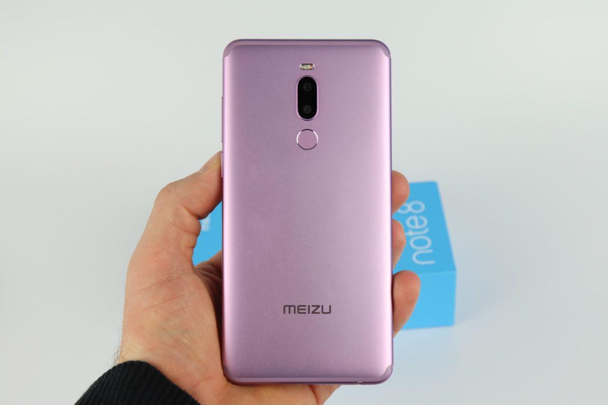 Meizu Note 8 Hand Rückseite