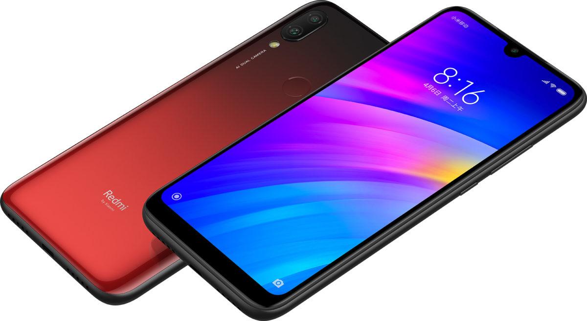 Xiaomi Redmi 7 Design