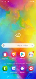 samsung galaxy m20 one ui 1