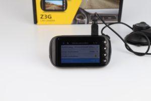 Z Edge Z3G Dashcam Funktionen Menü 1
