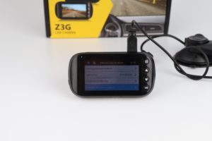 Z Edge Z3G Dashcam Funktionen Menü 2