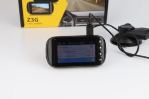 Z Edge Z3G Dashcam Funktionen Menü 3