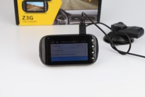Z Edge Z3G Dashcam Funktionen Menü 4