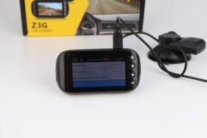 Z Edge Z3G Dashcam Funktionen Menü 4