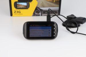 Z Edge Z3G Dashcam Funktionen Menü 5