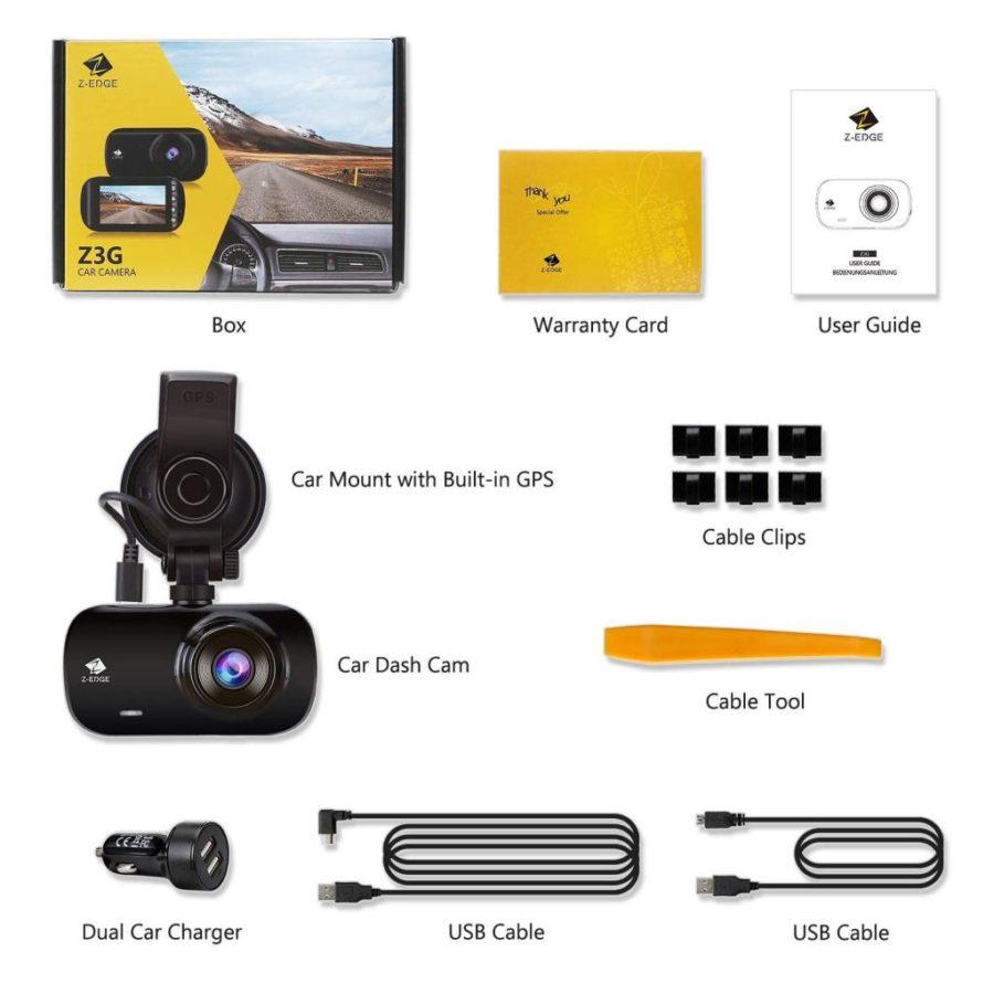 Z Edge Z3G Dashcam Test