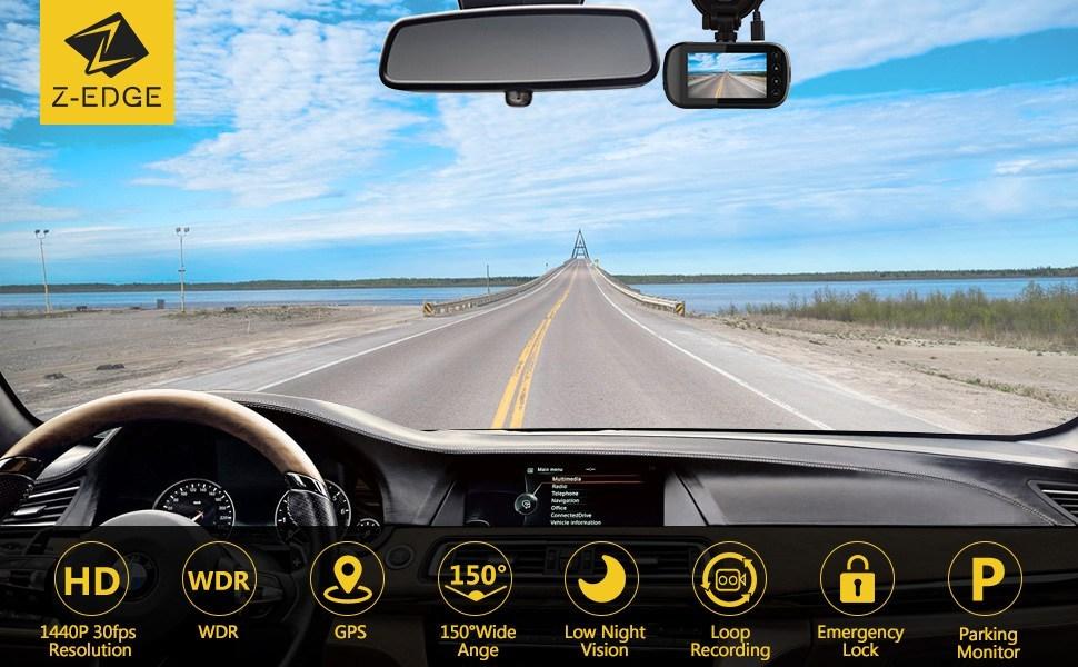 Z Edge Z3G Dashcam Testbericht