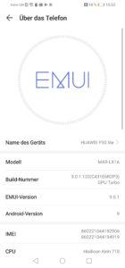 huawei p30 lite emui android 9 4