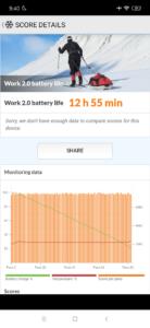 Redmi Note 7 Pro Testbericht Screenshot PCMark Akkubenchmark 2