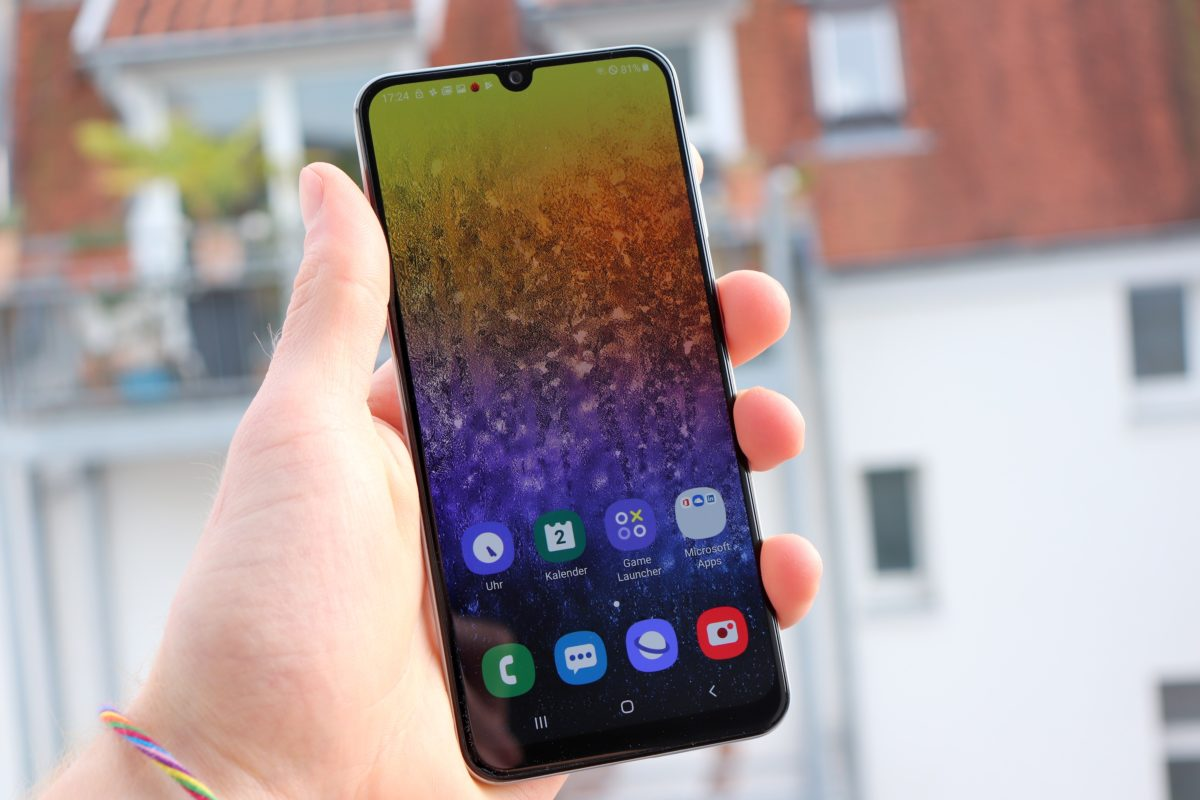 Samsung A50 display 4