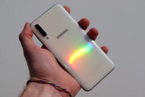 Samsung A50 glasstic