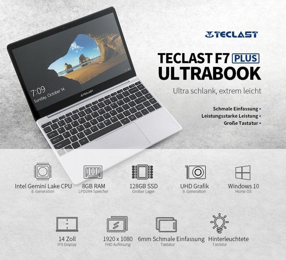 Teclast F7 Plus Daten