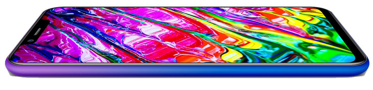 Ulefone S10 Pro Displayrand Werbung