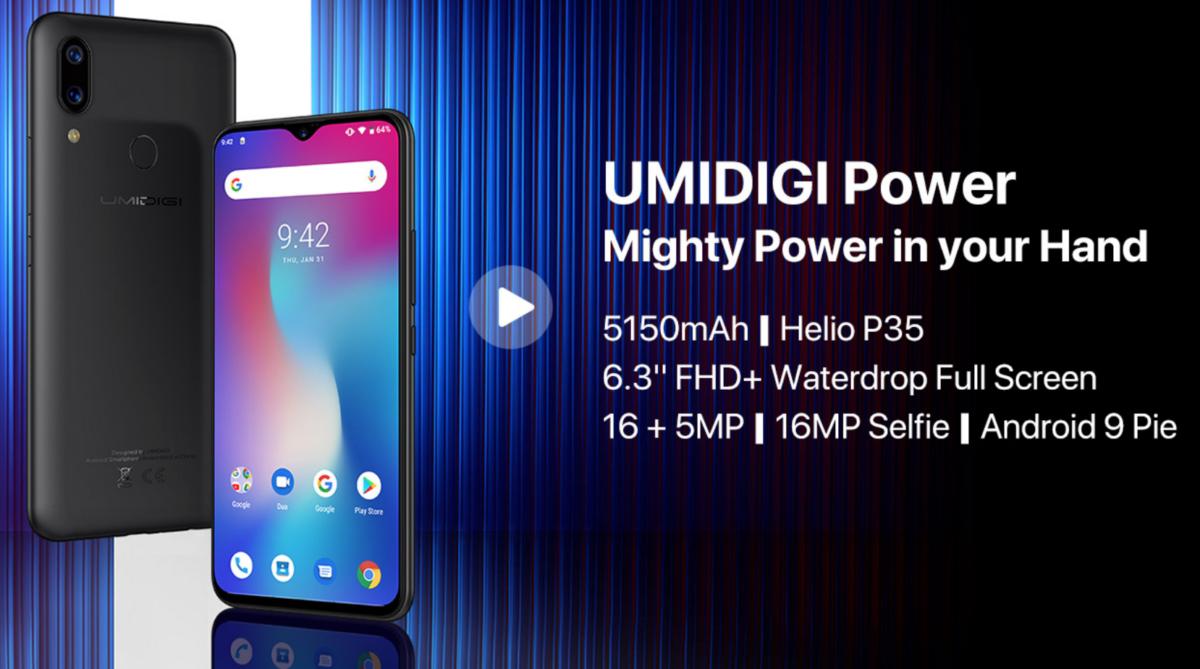 Umidigi Power 1