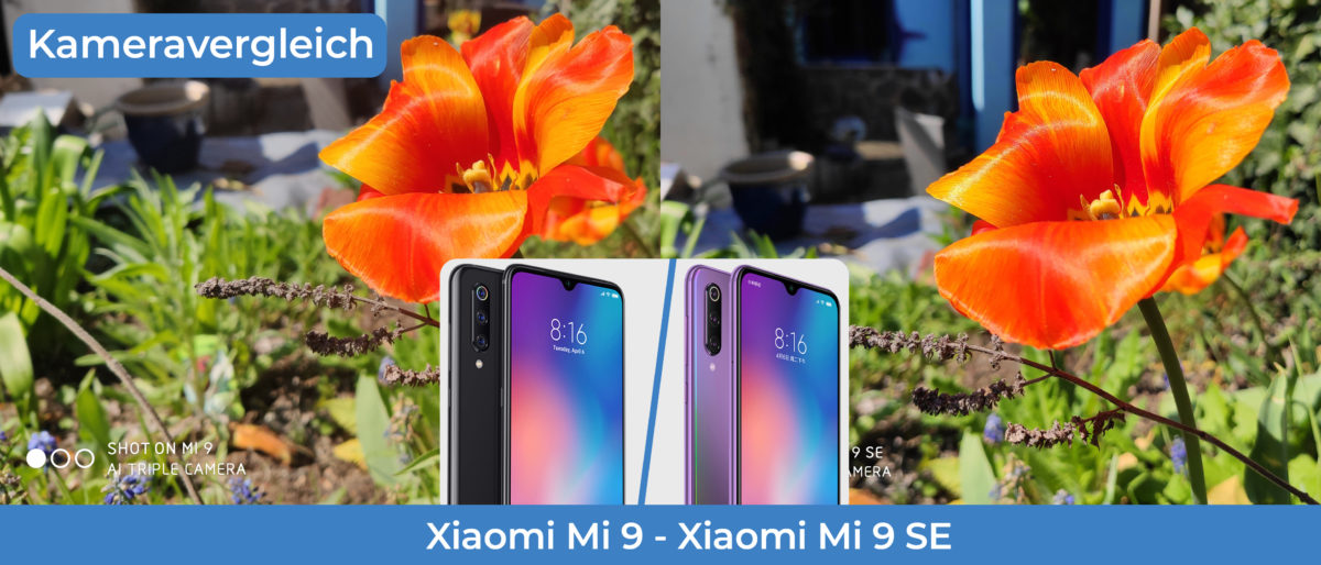 Kameravergleich Xiaomi Mi9 Mi9SE Titelbild