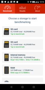 Gome C7 Note Plus Speichergeschwindigkeit
