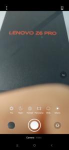 Lenovo Z6 Pro Kamera App 4