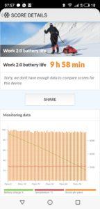 Meizu Note 9 Akkulaufzeit 1