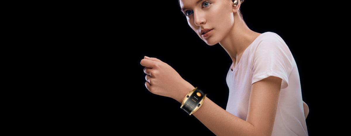 Nubia Alpha Arm Smartwatch