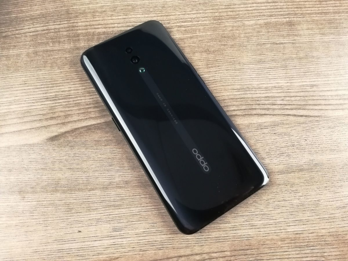 Oppo reno backside