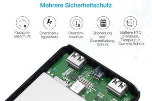 Poweradd Pilot X7 Testbericht Powerbank 5