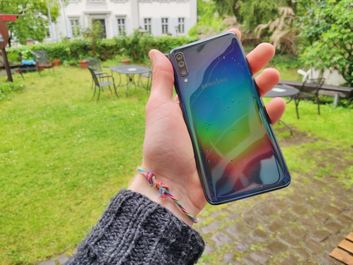 Samsung galaxy a70 glasstic