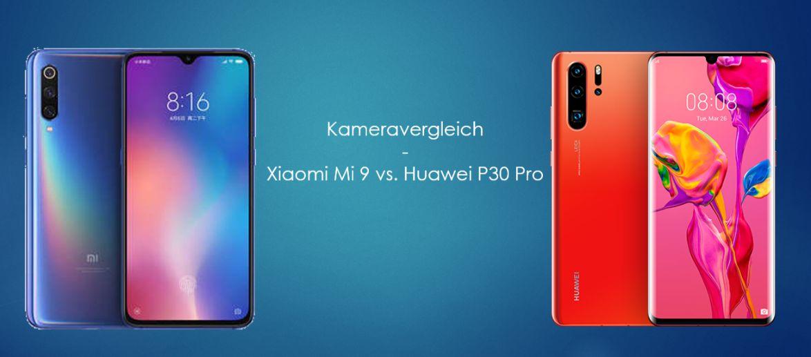 Huawei P30 Pro vs. Xiaomi Mi 9