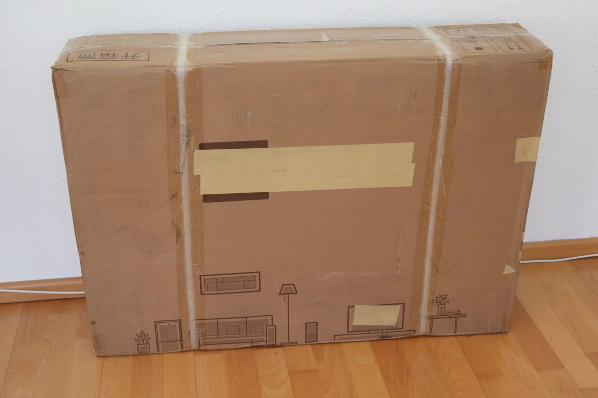 Xiaomi Walking pad laufband Verpackung