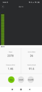Xiaomi Walking Pad Kalibrierung 1