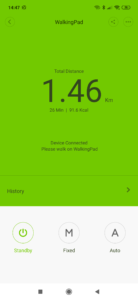 Xiaomi Walking Pad Kalibrierung 2