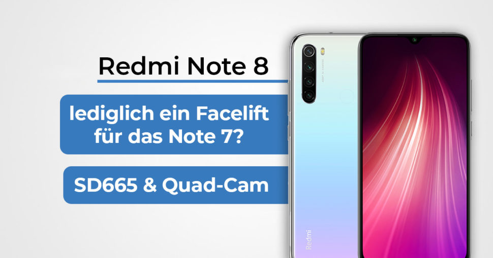 Redmi Note 8 Featured Banner