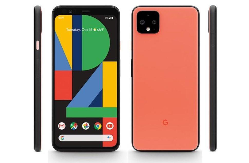 pixel 4 press orange