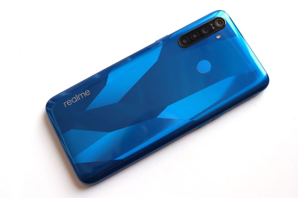 Realme 5 design