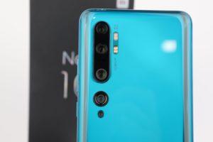 Xiaomi Mi Note 10 Penta Kamera