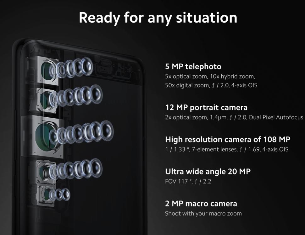 Xiaomi Mi Note 10 kamera