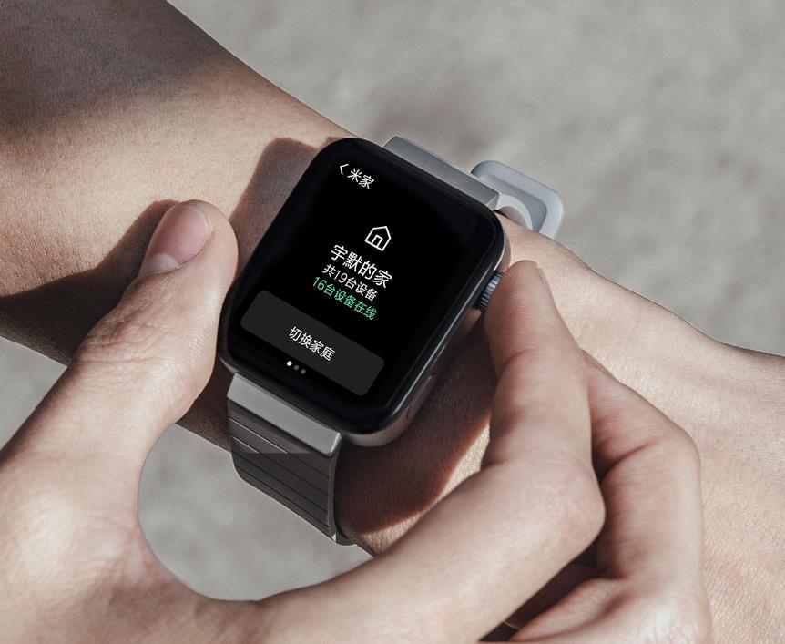 mi watch arm