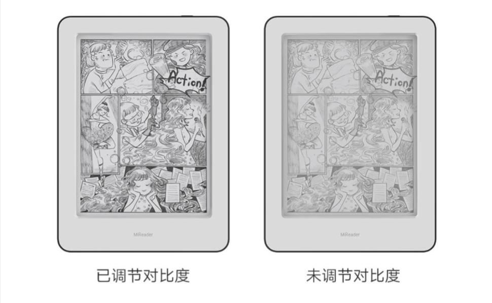 Xiaomi Mireader display