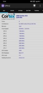 Cubot P30 CPU Z