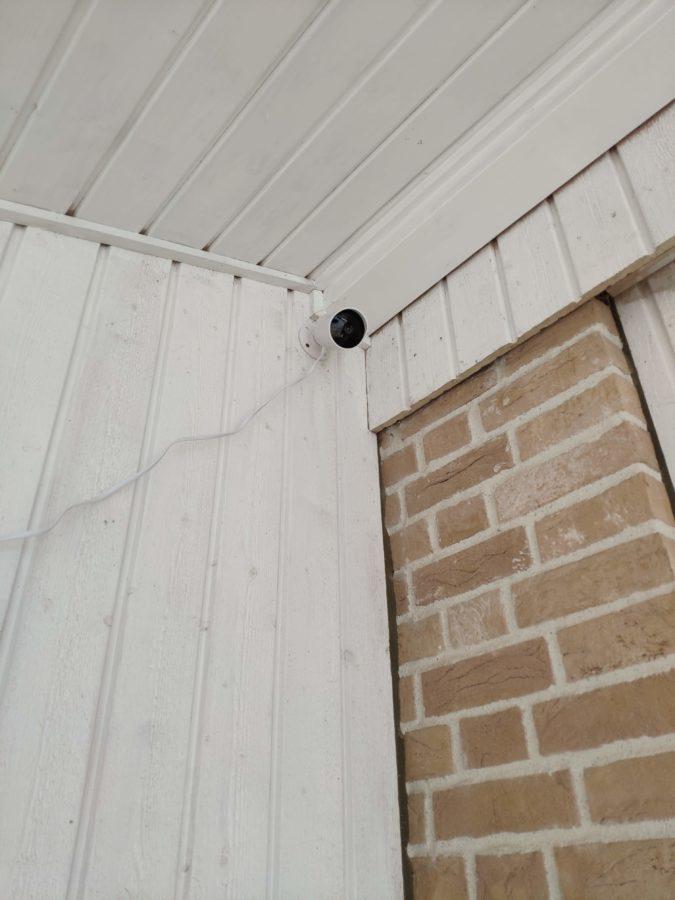 Kami Outdoor Security Camera montiert 2