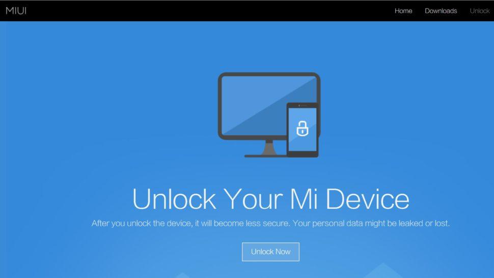 Xiaomi Unlock Bootloader anleitung