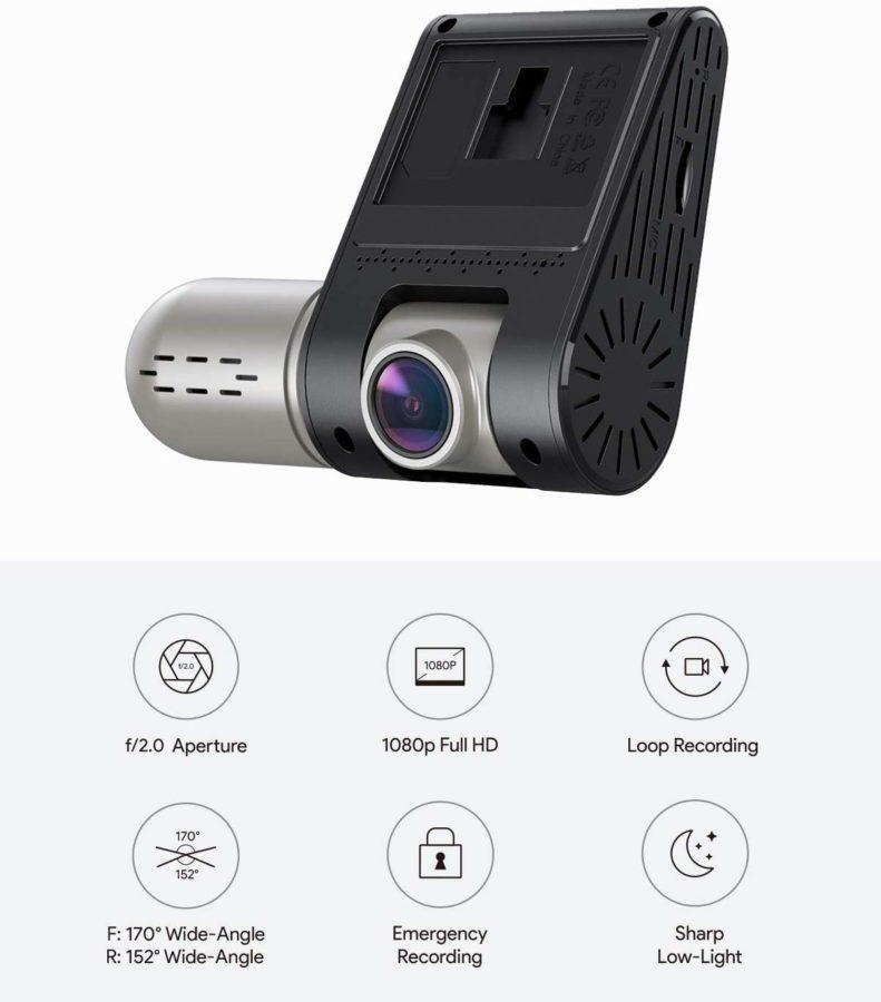 AUKEY Dual Dashcam