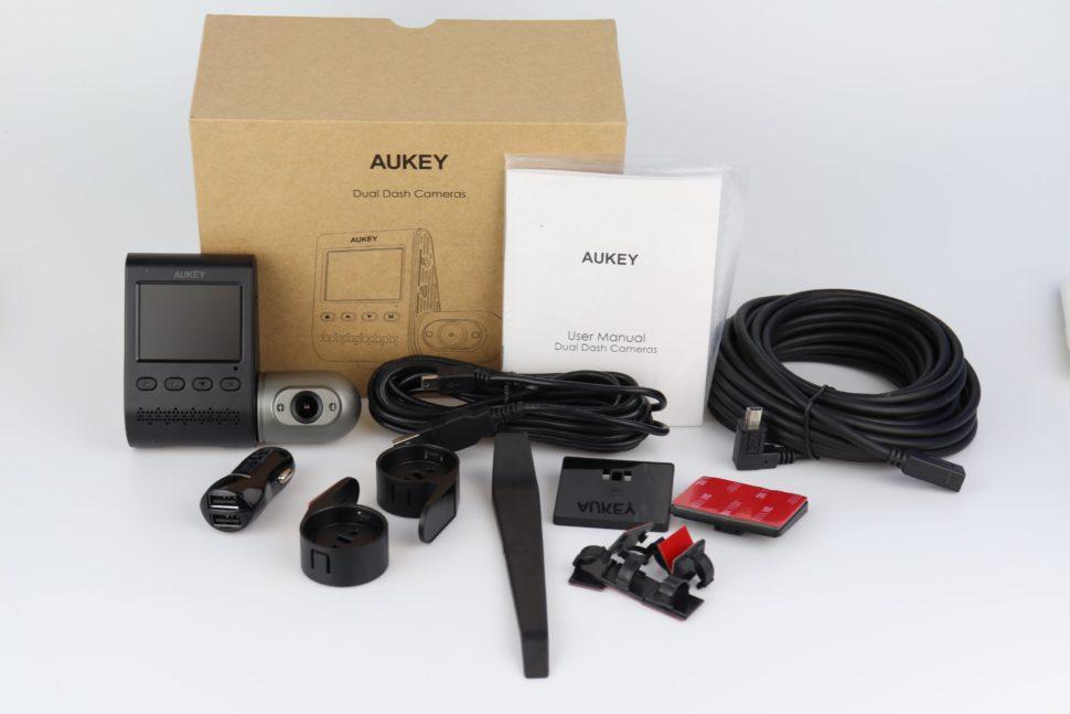 Aukey Dual Dash Cameras Test 1