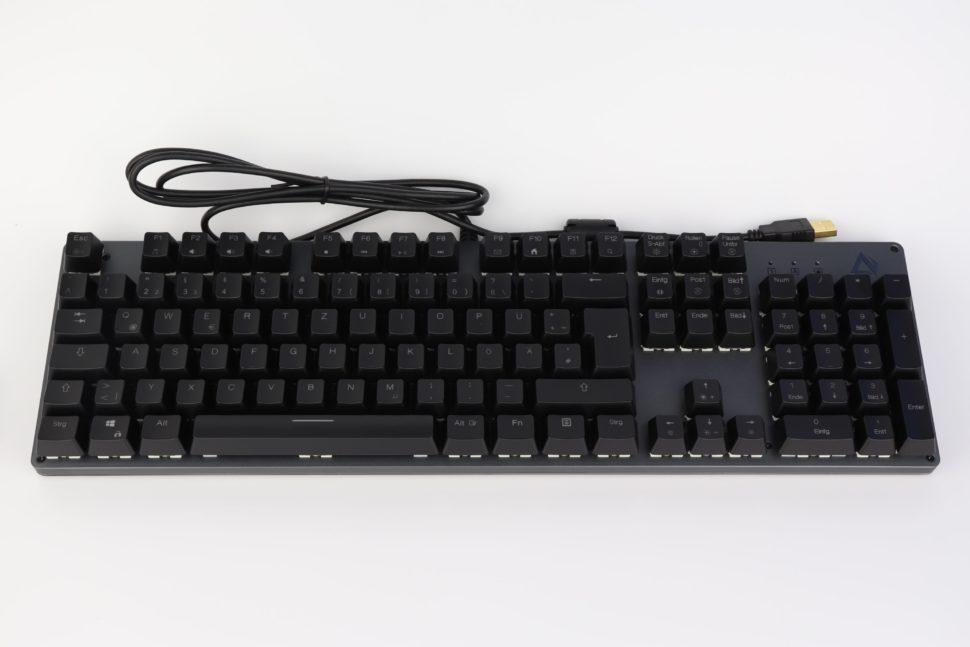 Aukey KM G12 Tastatur test 1