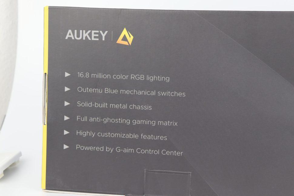 Aukey KM G12 Tastatur test 11