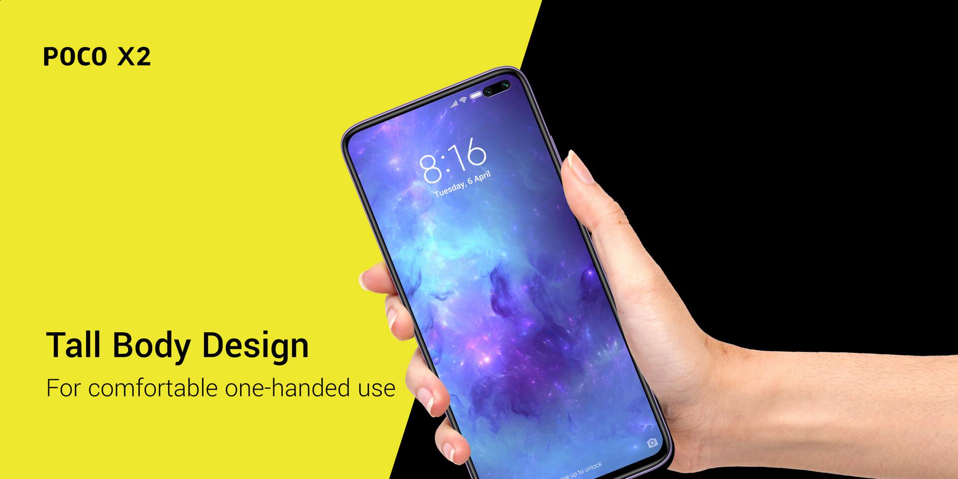 Poco X2 Design