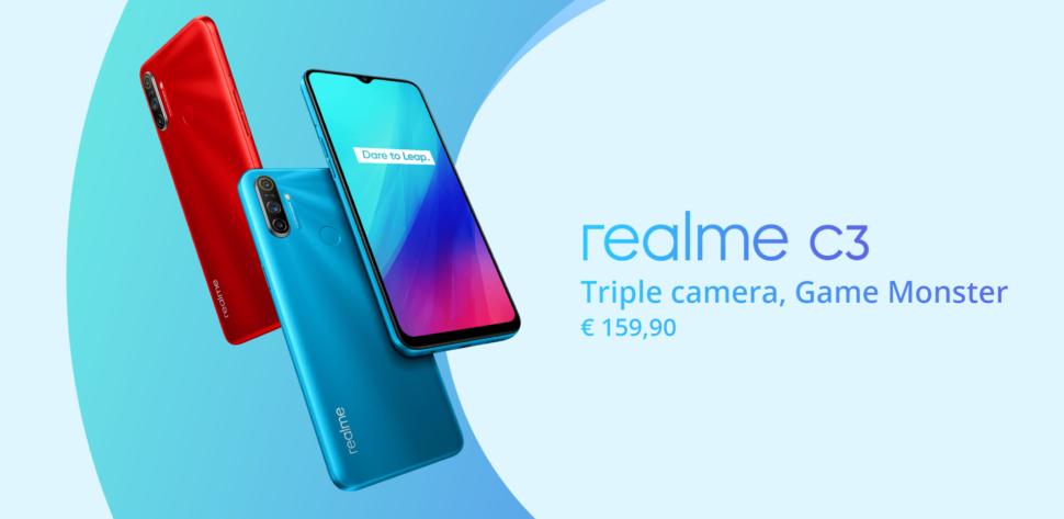 Realme C3 EU vorgestellt