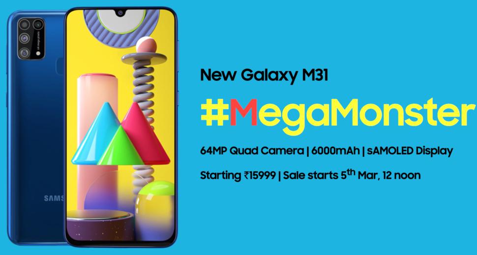 Samsung Galaxy M31 vorgestellt