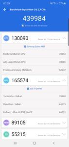 Samsung Note 10 Plus Testbericht Screenshot Leistung 2